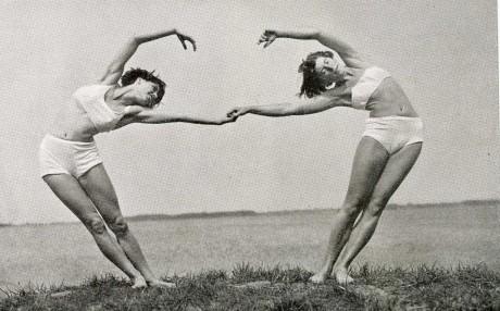 vintage cresent couple